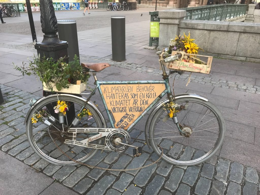 Greta Thunberg's Bike in Stockholm