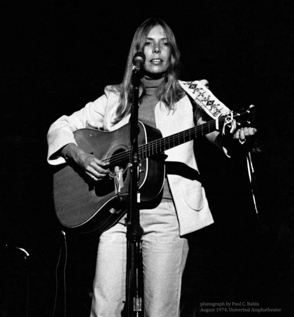 Joni Mitchell Circa 1974