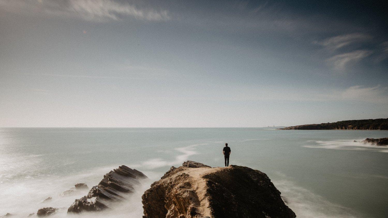 Man at Horizon