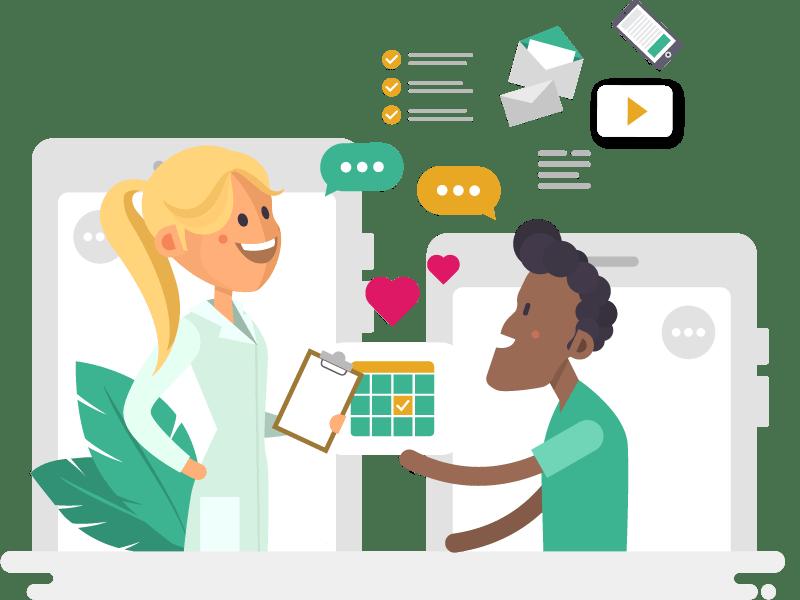 spark_web_why-spark_healthcare-provider_socially-connected